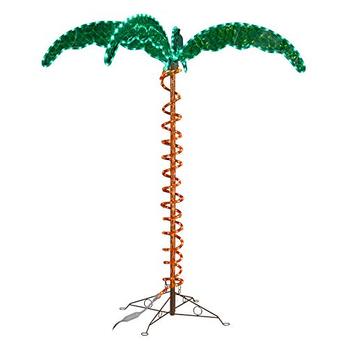 Green LongLife 8080103 Decorative Palm Tree Rope Light