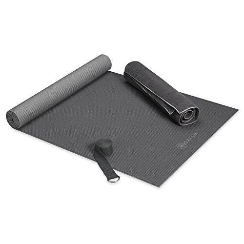 Gaiam Premium Hot Yoga Kit, Grey