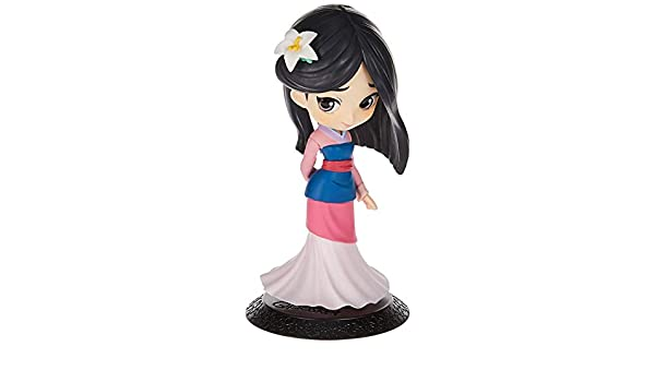 Mulan Pastel Color Ver.B 14cm Figurine Q Posket Disney