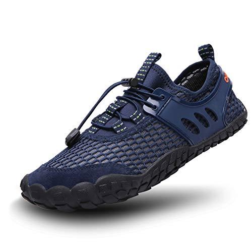 FEIFAN Women Men Water Shoess Hiking Running Shoes Barefoot Quick-Dry Aqua Yoga Shoes Blue ()
