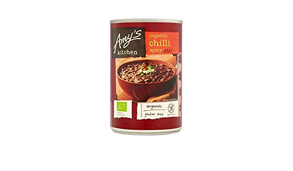 Amazon.com : Amys Kitchen Organic Spicy Chilli 416g - Pack of 4 : Grocery & Gourmet Food