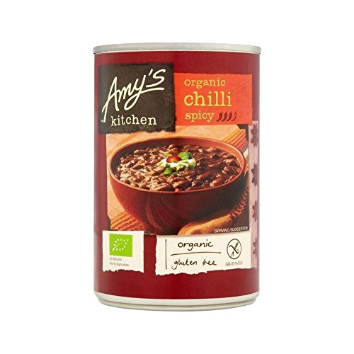 Amy's Kitchen Organic Spicy Chilli 416g - Pack of 6 by Amy's