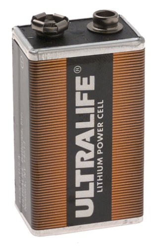 ULTRA LIFE, 10 year, smoke alarm battery, U9VL-X