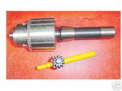 """3/16"""" to 3/4"""""""" DRILL CHUCK w/R-8 taper for milling machine!!!"""