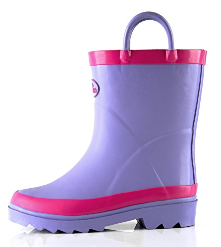 Pictures of Outee Kids Toddler Girls Rain Boots Natural CGLR17APUR11 5
