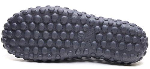 fuera secado ODEMA rápido las de zapatillas hombres Las grises hacia para sandalias de ahuecan agua gqzYBxpE