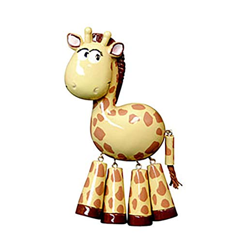Personalized Forest Animals Christmas Tree Ornament 2019 - Cute Brown Ivory Giraffe Dangling Legs Zoo Collection Adventure Toy Kingdom Costume Africa Sophie Nursery Gift Year - Free Customization