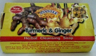 Turmeric and Ginger Herbal Cleansing Soap : 6 Pieces