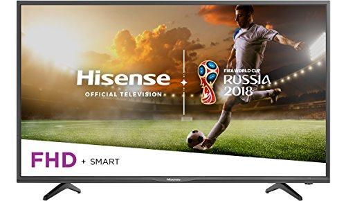 Hisense 40-Inch 1080p Smart LED TV 40H5080E (2018)...