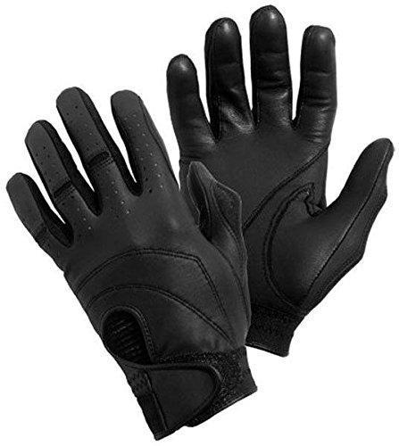 Bob Allen Black Deluxe Shooting Gloves (Large)