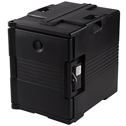 - Cambro Camcarrier UPC400SP110 Black Pan Carrier with Security Package