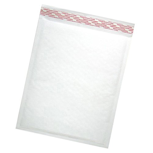 #2 Bubble Mailers (8 1/2 x 12) - White Kraft ( 100 Qty. ) 8.5'' x 12'' By ValueMailers by ValueMailers