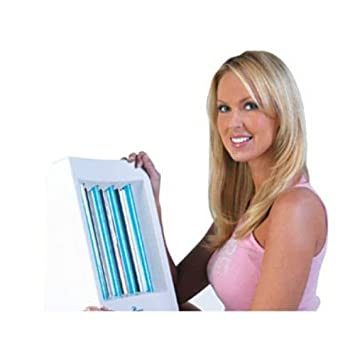 Tanning Light Bulb: CalSun Facial Tanning Sun Lamp / Face Tanner 110v by Clever Home,Lighting