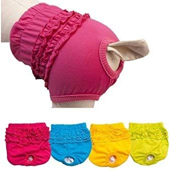 Girl Female Pet Dog Panty Brief Bitch In Season Sanitary Pants Lovely Size S//M//L