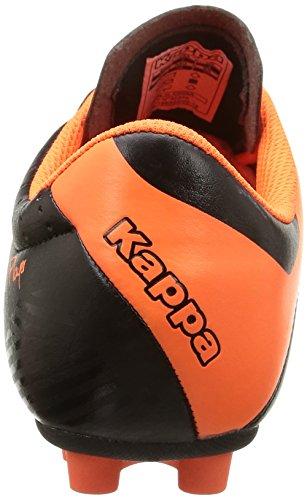 Kappa 4soccer Player Fg, Jungen Fußballschuhe Schwarz (906/black/orange/orange)