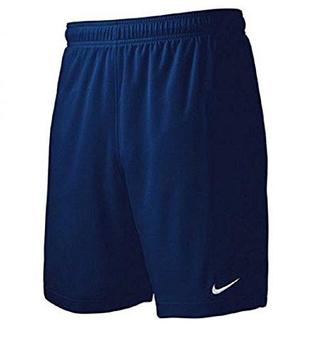 Nike Men's Team Equalizer Soccer Shorts, Navy Blue, X-Large