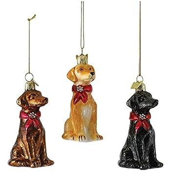 Amazon.com: Old World Christmas Ornaments: Yellow Labrador ...