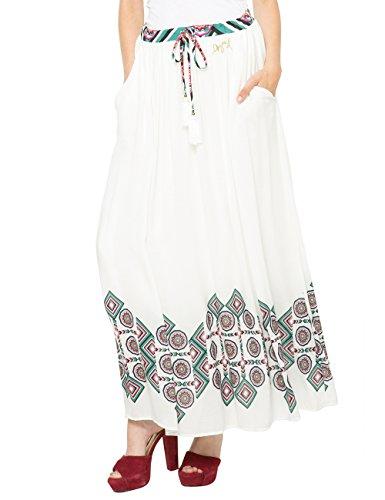 Bianco Afrodita 1000 Gonna Bianco Donna Desigual dIn0gqwRg