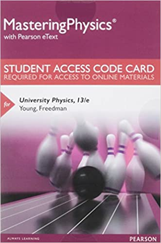 Amazon masteringphysics standalone access card for masteringphysics standalone access card for university physics 13th edition mastering physics access codes 13th edition fandeluxe Image collections