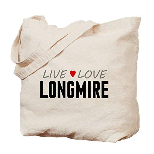 CafePress–Live Love LONGMIRE–Leinwand Natur Tasche, Reinigungstuch Einkaufstasche S khaki