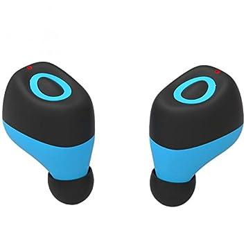 ROGUCI auricular inalámbrico HI-FI auriculares estéreo deporte como auriculares Bluetooth para auriculares Ear doble