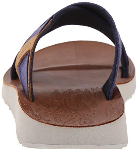 Merrell Herren Duskair Slide Leder Sandale Marine