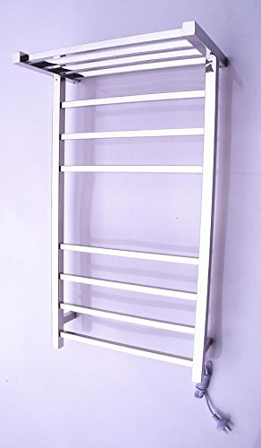 Toalla calentador, radiador toallero de pared acero inoxidable , 8k mirror: Amazon.es: Hogar