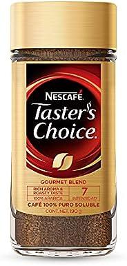 Nescafé Taster's Choice, Café Soluble Nescafé Taster's Choice Gourmet Blend Frasco de 190g, 19