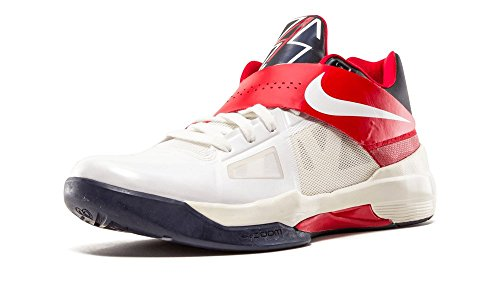 Azione Scarpe bianco Rosso Nero Basket da Nero Mid Nike Uomo Borough Court qzxHR