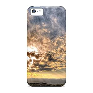 Case Cover, Fashionable Iphone 5c Case - Lighted Desert