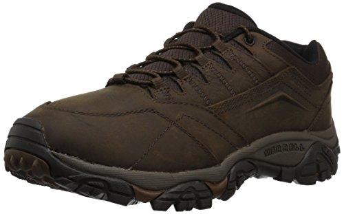 Merrell Men's Moab Adventure Stretch Hiking Shoe, Dark Earth, 12 Wide US