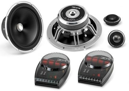 JL Audio ZR650-CSi 6-1/2' Evolution ZR Series 2-way Component Speakers System (ZR650CSi)