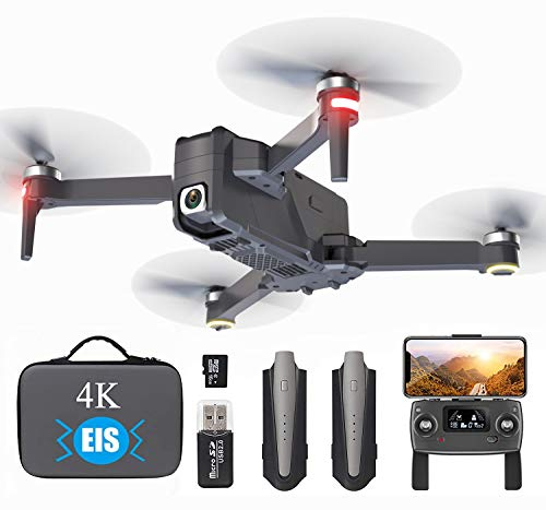 GPS Drone with 4K EIS Camera for Adults Beginner, 5G Professional Drone WiFi FPV Transmission with Brushless Motor…