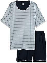 Conjunto de pijama Curto - Listrado Lupo Masculino
