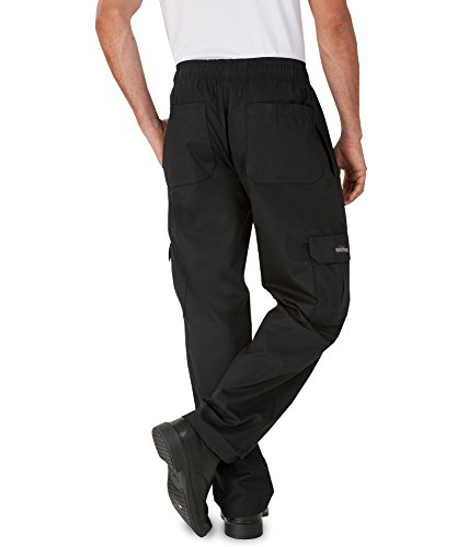 Men's Cargo Chef Pant (XS-4X, Black) (Large) by ChefUniforms.com (Image #1)