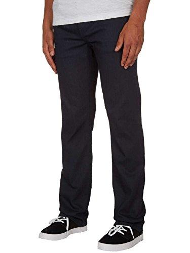 Blu Volcom coated Indigo Jeans Solver Uomo vtwSwA4q