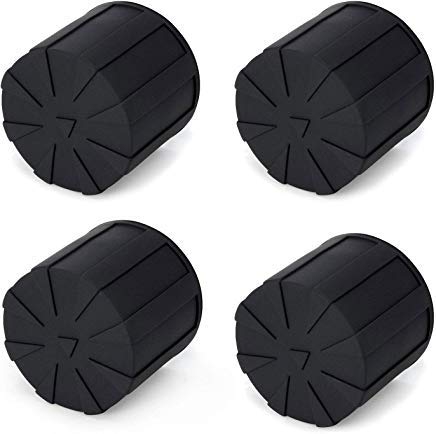 Digislider Silicone Universal Lens Cap - Fits Over 99% of Lenses, Scratch Proof, Waterproof, Dustproof, Shock-Absorbent, Lens Cover for 60-110mm Lenses (4 Pack) by Digislider