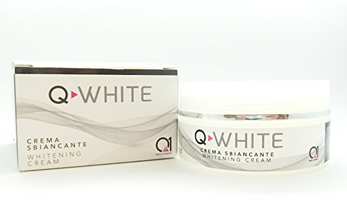 Q-WHITE lightening whitening cream gel for skin stains blemishes : hyperchromia, melasma, sun spots, hormone, from using photo-sensitive products, post-operative inflammation. Synergy of 3 ingredients (Gel Spot Lightening Acne Post)