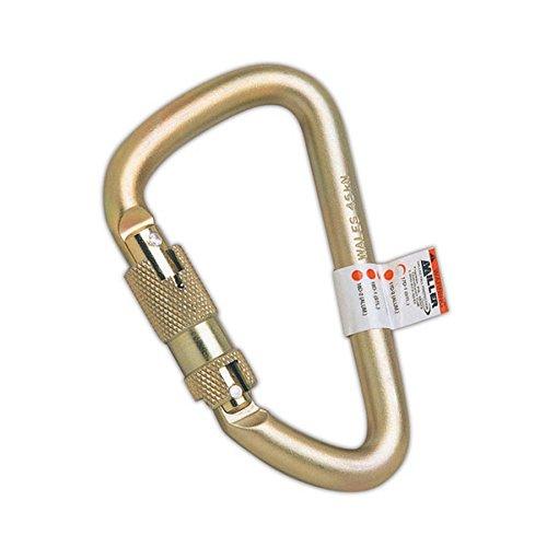 Honeywell 17D-1/ Miller Steel Twist-Lock Carabiner, 4-5/8