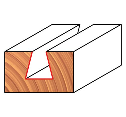 Freud 1/2'' (Dia.) Dovetail Bit with 1/2'' Shank (22-112)