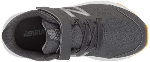 New Balance Boys' 519v1 Hook and Loop Running Shoe, Magnet/Phantom, 2 M US Infant by New Balance (Image #8)