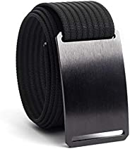 GRIP6 Nylon Web Belts Tactical Canvas Outdoor Business Casual Non Metal Buckle
