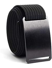 Belts for Men & Women- Nylon Belt- Fully Adjustable Web Belt & Belt Buckle