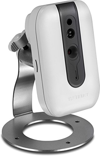 Price comparison product image TRENDnet Indoor / Outdoor (TV-IP562WI) Megapixel Indoor Wireless IP Camera with 1.3 Megapixel 720p HD Resolution,  4x Digital zoom,  16 feet Night Vision,  ideal for monitoring your Home / Baby / Petcam,  Samba or Micro SD Card slot,  Digital WDR,  Secu,  Free App for Android,  and IOS,  ONVIF,  IPv6 Compliant