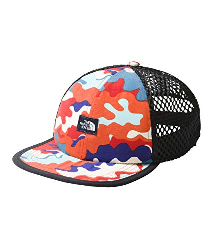 (The North Face Unisex Class V Trucker Hat Fiery Red One Size)