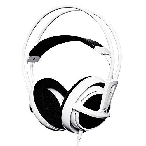 SteelSeries 51000 Siberia v1 Full Size Over Ear Headphone  White PC Headsets