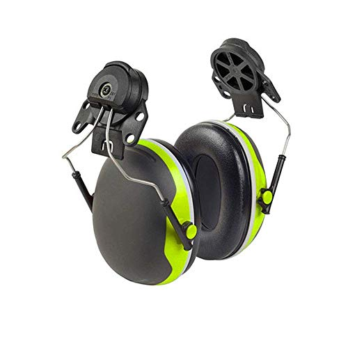 FS Soundproof Earmuffs, Ear Defenders Adult,Hard Hat Earmuffs/Construction Site, Factory Work Noise Reduction Silencer Noise Reduction Headphones Two Options (Size : Noise reduction of 33 decibels) by FSHEZ (Image #3)