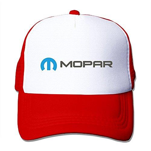 Cool Man Red Mopar Car SRT RAM Viper -E Mesh Caps Cap One Size (Juventus Car Accessories)