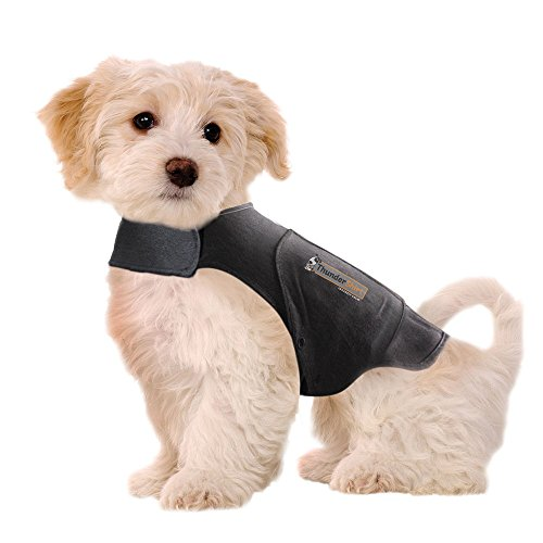 ThunderShirt Classic Dog Anxiety Jacket, Heather Gray, XX-Small