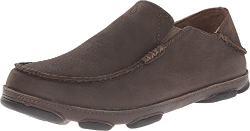 - OLUKAI Men's Moloa Slip-on,Seal Brown/Seal Brown,US 11.5 M